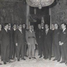 Militaria: AUDIENCIA FRANCO (12/10/1967). COMITE EJECUTIVO DEL CONGRESO SINDICAL PRESIDIDO POR SR. SOLIS RUIZ.. Lote 244983290