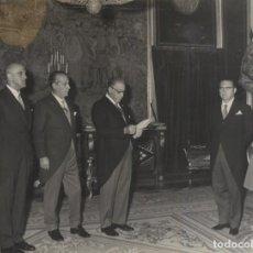 Militaria: AUDIENCIA FRANCO 15/10/1969. CONSEJO ADMINISTRACION DE BETICA DE AUTOPISTAS . PRESIDE BLASCO OLLER. Lote 244991790