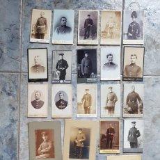 Militaria: FOTOGRAFÍAS MILITARES ALEMANES PRIMERA GUERRA MUNDIAL Y AÑOS PREVIOS/ SOLDADOS ALEMANIA. Lote 245015130