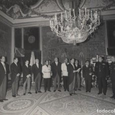 Militaria: AUDIENCIA FRANCO DIRECTIVA COMITE ESPAÑOL CONTRA LA COMPETENCIA DESLEAL.PRESIDE JMª MIRÓ 4/4/1967. Lote 245159405