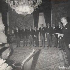 Militaria: AUDIENCIA FRANCO COMITE ORGANIZADOR FERIA MUESTRAS MONOGRAFICAS MATERIAL OFICINAS SIMO .03/11/1967. Lote 245159880
