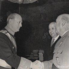 Militaria: AUDIENCIA FRANCO - GENERAL JORGE NOCHETI CAMPOS PRESIDENTE COMITE OLIMPICO DE ARGENTINA 21-12-1967. Lote 245761305