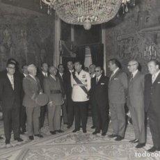 Militaria: AUDIENCIA DEL CAUDILLO (01/11/1969). AYUNTAMIENTO DE MONCADA Y REIXACH (BARCELONA). Lote 245928150