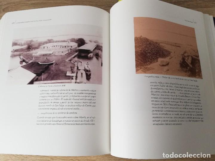 Militaria: La Armada española y la fotografía en Cuba, Puerto Rico y Filipinas. Los sucesos de 1898. Escrito p - Foto 16 - 246030245