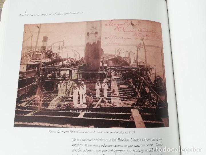 Militaria: La Armada española y la fotografía en Cuba, Puerto Rico y Filipinas. Los sucesos de 1898. Escrito p - Foto 19 - 246030245