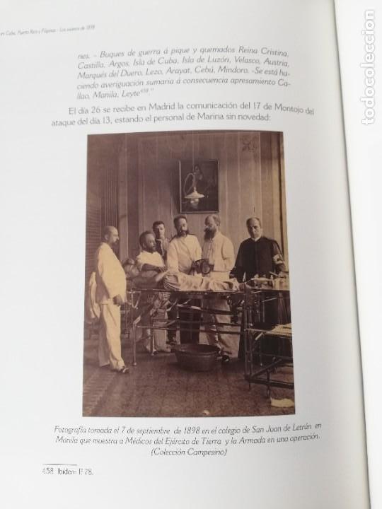 Militaria: La Armada española y la fotografía en Cuba, Puerto Rico y Filipinas. Los sucesos de 1898. Escrito p - Foto 21 - 246030245