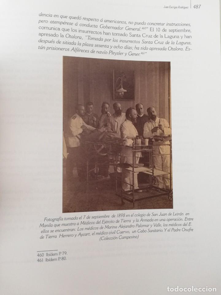 Militaria: La Armada española y la fotografía en Cuba, Puerto Rico y Filipinas. Los sucesos de 1898. Escrito p - Foto 24 - 246030245