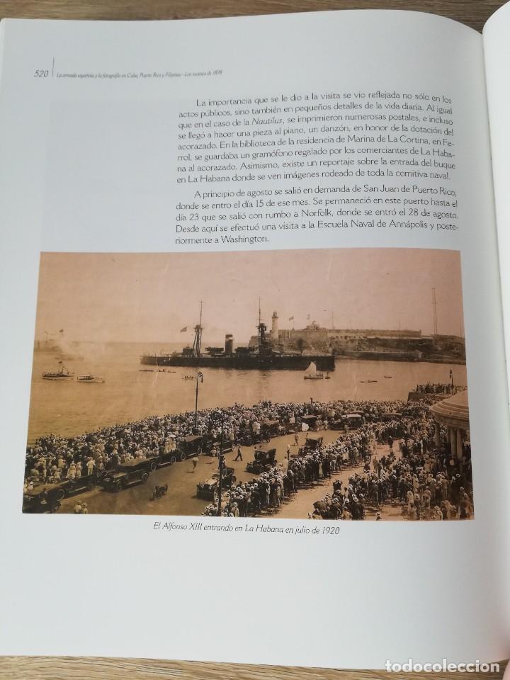 Militaria: La Armada española y la fotografía en Cuba, Puerto Rico y Filipinas. Los sucesos de 1898. Escrito p - Foto 27 - 246030245