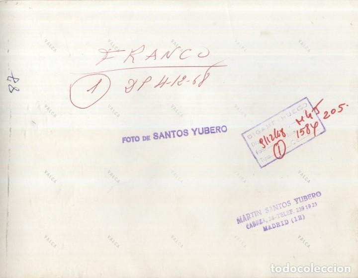 Militaria: MENSAJE DEL CAUDILLO.NAVIDAD DEL AÑO 1968 (04/12/1968). - Foto 2 - 246039310