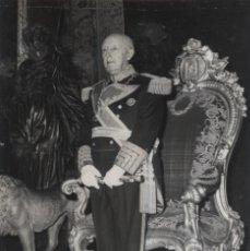 Militaria: EL GENERALISIMO FRANCO EN EL PALACIO REAL DE MADRID . DIA DEL CAUDILLO.(01/10/1972). Lote 246434025