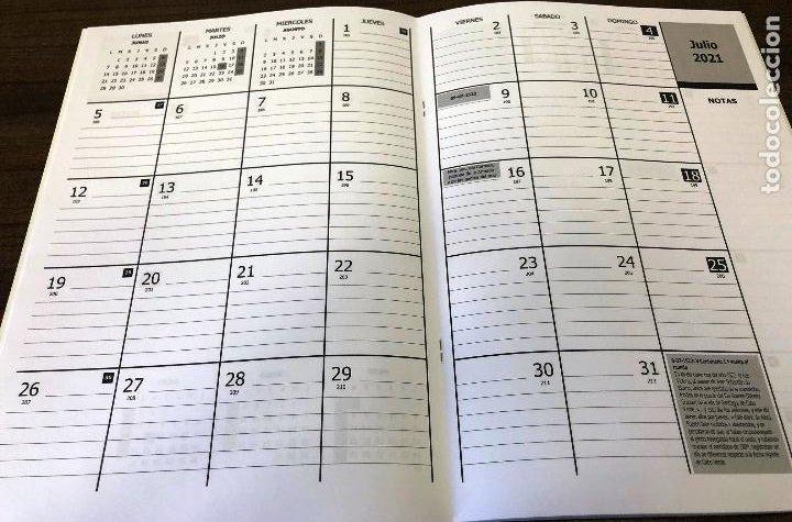Militaria: Lote completo agenda 2021 de la Armada Española: agenda pared, calendario sobremesa y agenda libreta - Foto 5 - 246647955