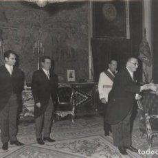 Militaria: FRANCO AUDIENCIA COLEGIO AGENTES DE LA PROPIEDAD INMOBILIARIA ARAGON PRESIDE GARCIA CORELLA 1969. Lote 247692025