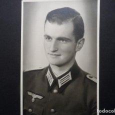 Militaria: LEUTNANT DE LA WEHRMACHT . MED. 14 X 9 CMS. III REICH. AÑOS 1939-45. Lote 248128000