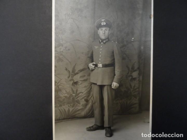 UNTEROFFIZIER DE LA WEHRMACHT INF REG. 155- DIV 90 LIGERA- AFRIKA KORPS . III REICH. AÑOS 1941-45 (Militar - Fotografía Militar - II Guerra Mundial)