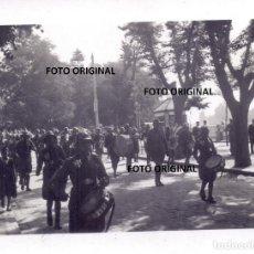 Militaria: DESFILE TROPAS NACIONALES BURGOS LLEGADA LEGION CONDOR GUERRA CIVIL. Lote 248415810