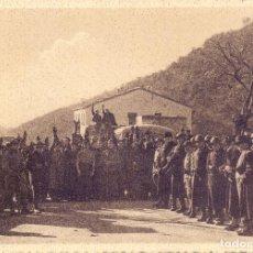 Militaria: LLEGADA NACIONALISTAS FRANCO AL PUESTO FRONTERIZO PERTHUS GUERRA CIVIL ESTUDIO CHAUVIN. Lote 248427600