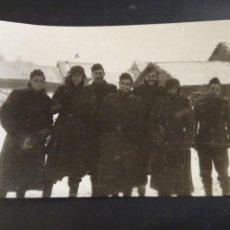 Militaria: 1941 FOTOGRAFÍA ORIGINAL VOLUNTARIOS DIVISIÓN AZUL 16 X 10,50. Lote 248482175