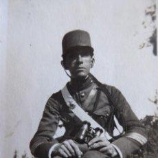 Militaria: FOTOGRAFÍA SARGENTO ARTILLERÍA DEL EJÉRCITO ESPAÑOL. 1923. Lote 248740270