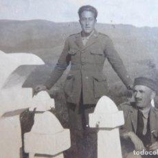 Militaria: FOTOGRAFÍA CAPITÁN SANIDAD MILITAR DEL EJÉRCITO ESPAÑOL. GUERRA DE MARRUECOS. Lote 249015340