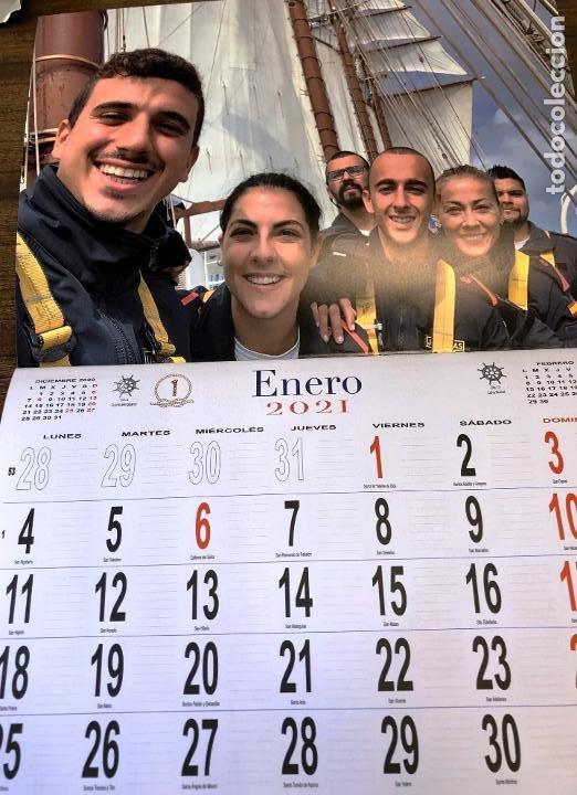 Militaria: Lote completo agenda 2021 de la Armada Española: agenda pared, calendario sobremesa y agenda libreta - Foto 11 - 246647955