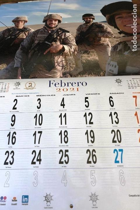 Militaria: Lote completo agenda 2021 de la Armada Española: agenda pared, calendario sobremesa y agenda libreta - Foto 12 - 246647955