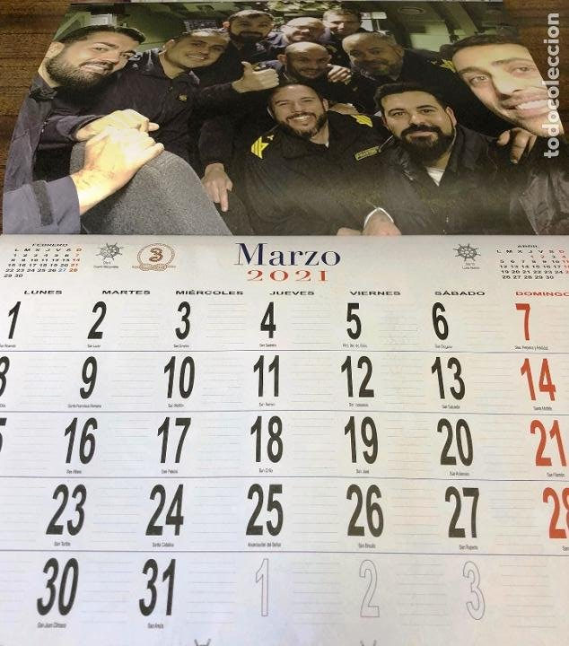 Militaria: Lote completo agenda 2021 de la Armada Española: agenda pared, calendario sobremesa y agenda libreta - Foto 13 - 246647955