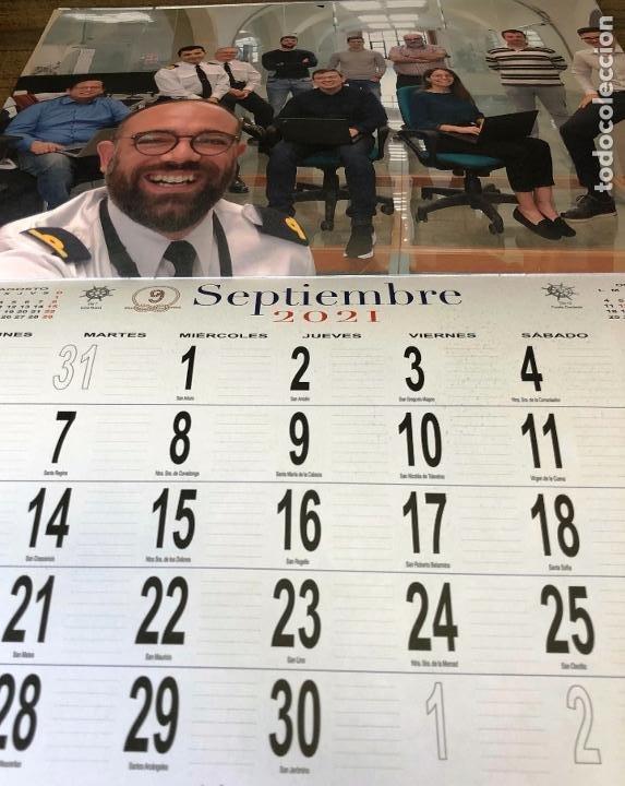 Militaria: Lote completo agenda 2021 de la Armada Española: agenda pared, calendario sobremesa y agenda libreta - Foto 19 - 246647955