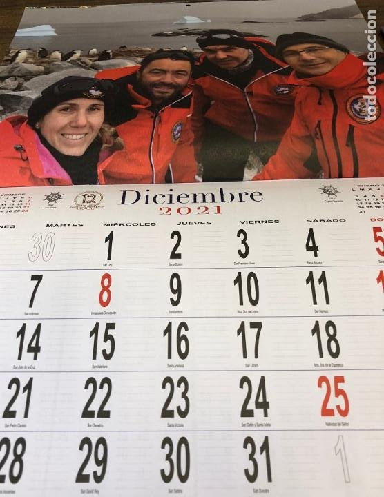 Militaria: Lote completo agenda 2021 de la Armada Española: agenda pared, calendario sobremesa y agenda libreta - Foto 22 - 246647955