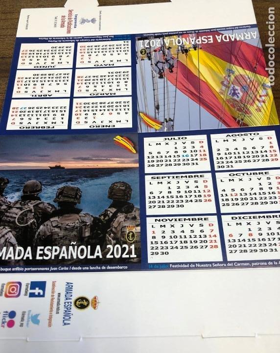 Militaria: Lote completo agenda 2021 de la Armada Española: agenda pared, calendario sobremesa y agenda libreta - Foto 25 - 246647955