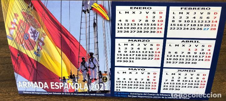 Militaria: Lote completo agenda 2021 de la Armada Española: agenda pared, calendario sobremesa y agenda libreta - Foto 27 - 246647955