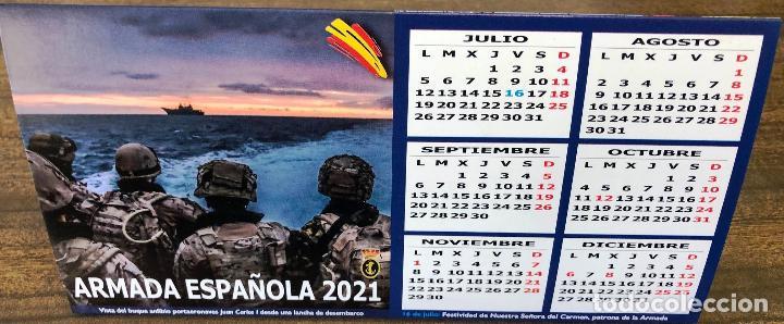 Militaria: Lote completo agenda 2021 de la Armada Española: agenda pared, calendario sobremesa y agenda libreta - Foto 28 - 246647955