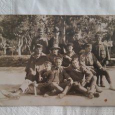 Militaria: TARJETA POSTAL FOTOGRÁFICA SOLDADOS ESPAÑOLES EN MELILLA FECHADA EN EL AÑO 1922 GUERRA DEL RIF. Lote 251672305