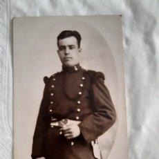 Militaria: TARJETA POSTAL FOTOGRÁFICA MILITAR ESPAÑOL FECHADA EN EL AÑO 1925. Lote 251672810