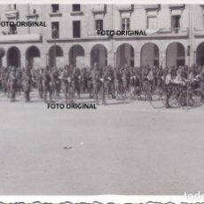 Militaria: DESFILE PLAZA MAYOR SORIA SUBOFICIALES INSTRUCTORES LEGION CONDOR IMKER AUSBILDER GUERRA CIVIL. Lote 251839020