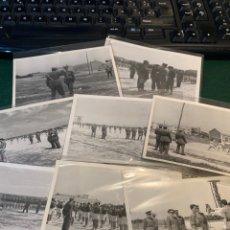 Militaria: FOTOGRAFÍAS (8) UDS. DEPORTE ACADEMIA GENERAL MILITAR. Lote 251888840