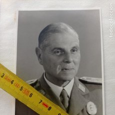 Militaria: TENERIFE.GUERRA CIVIL.MILITAR. FOTOGRAFIA CORONEL JOAQUIN GARCIA PALLASAR. CAPITÁN GENERAL.. Lote 252228500