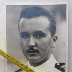 Militaria: FOTOGRAFIA DE RAMON FRANCO, ESTUDIO DE JALON ANGEL, AÑO 1937. 16 X 11,5 CMS. Lote 252229680