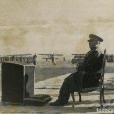 Militaria: FRANCO EN GETAFE CON MOTIVO DE LA CELEBRACION DE LA VIRGEN DE LORETO PATRONA DE LA AVIACION. Lote 252575690