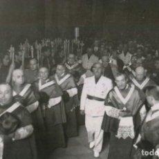 Militaria: EL CAUDILLO EN CATEDRAL DE SANTIAGO RINDE HOMENAJE AL APOSTOL EN LA PEREGRINACION DE FALANGE. Lote 252580165