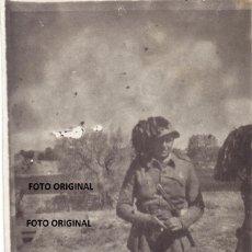 Militaria: FOTO OFICIAL BERSAGLIERI CTV ITALIANO GUERRA CIVIL ESPAÑOLA. Lote 252637845