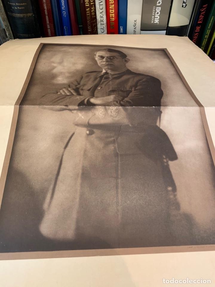 Militaria: Fotografías del General E. Mola - de época - 60 x 49 cm. - Foto 2 - 252932350
