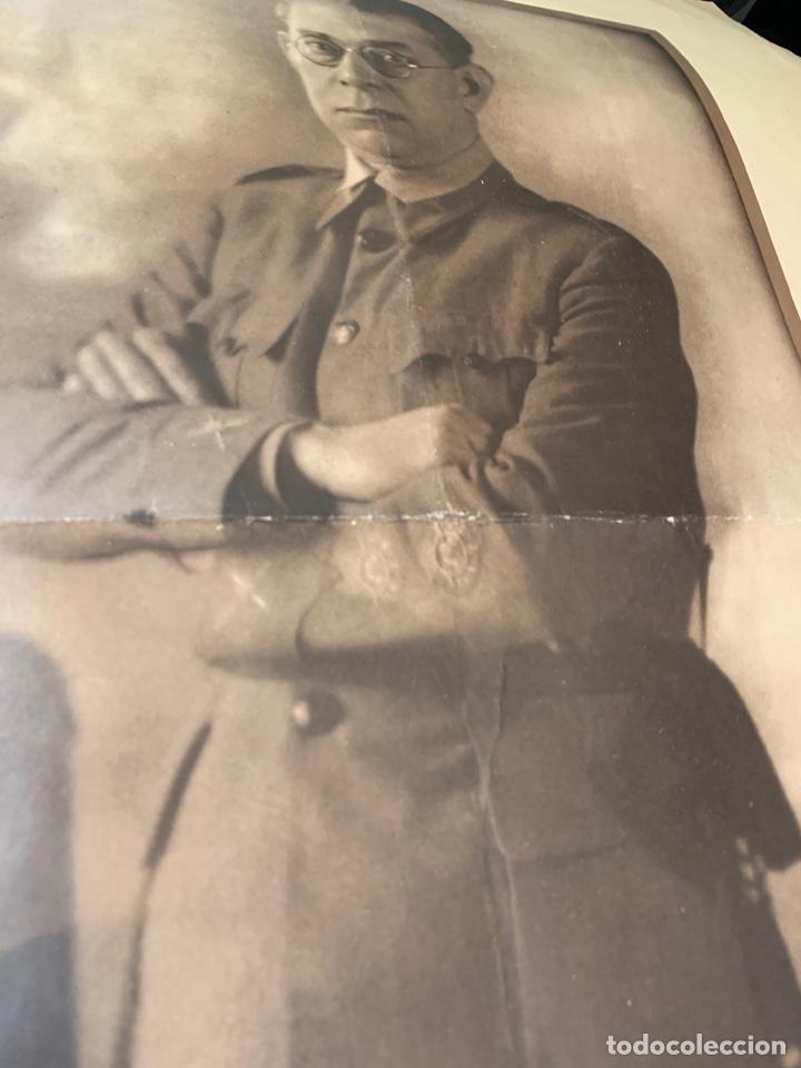 Militaria: Fotografías del General E. Mola - de época - 60 x 49 cm. - Foto 3 - 252932350