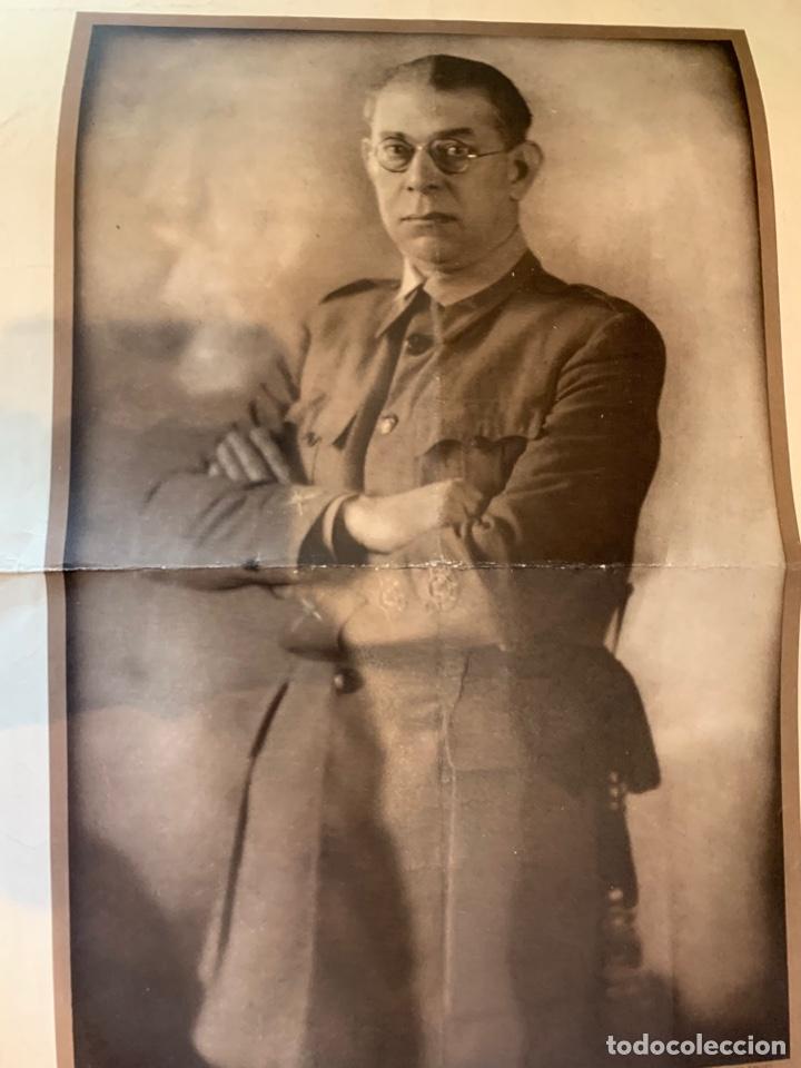 Militaria: Fotografías del General E. Mola - de época - 60 x 49 cm. - Foto 4 - 252932350