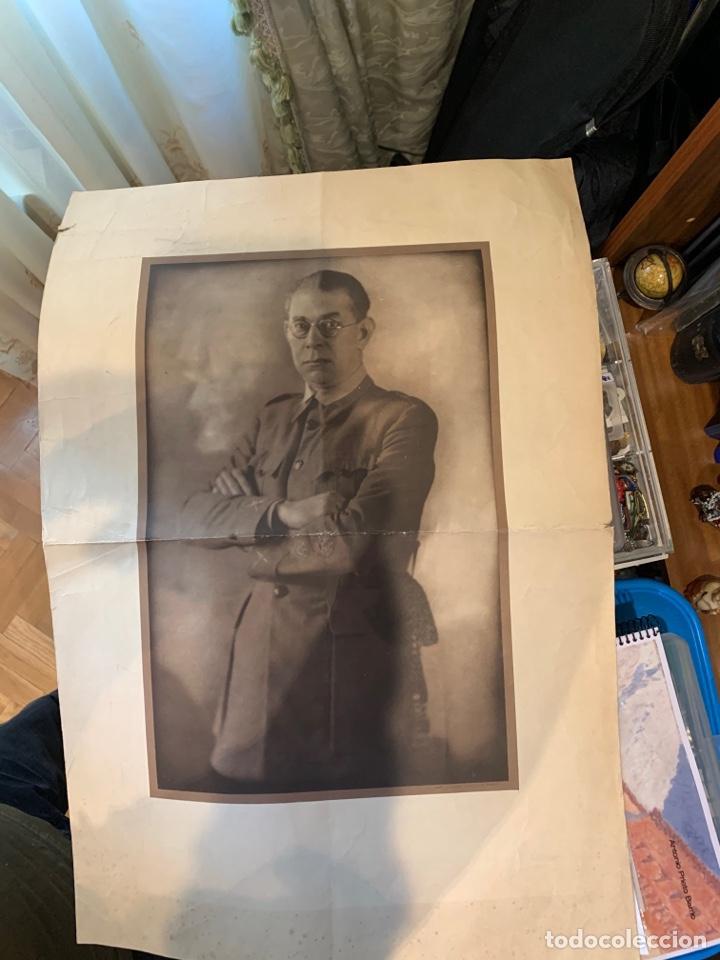Militaria: Fotografías del General E. Mola - de época - 60 x 49 cm. - Foto 5 - 252932350