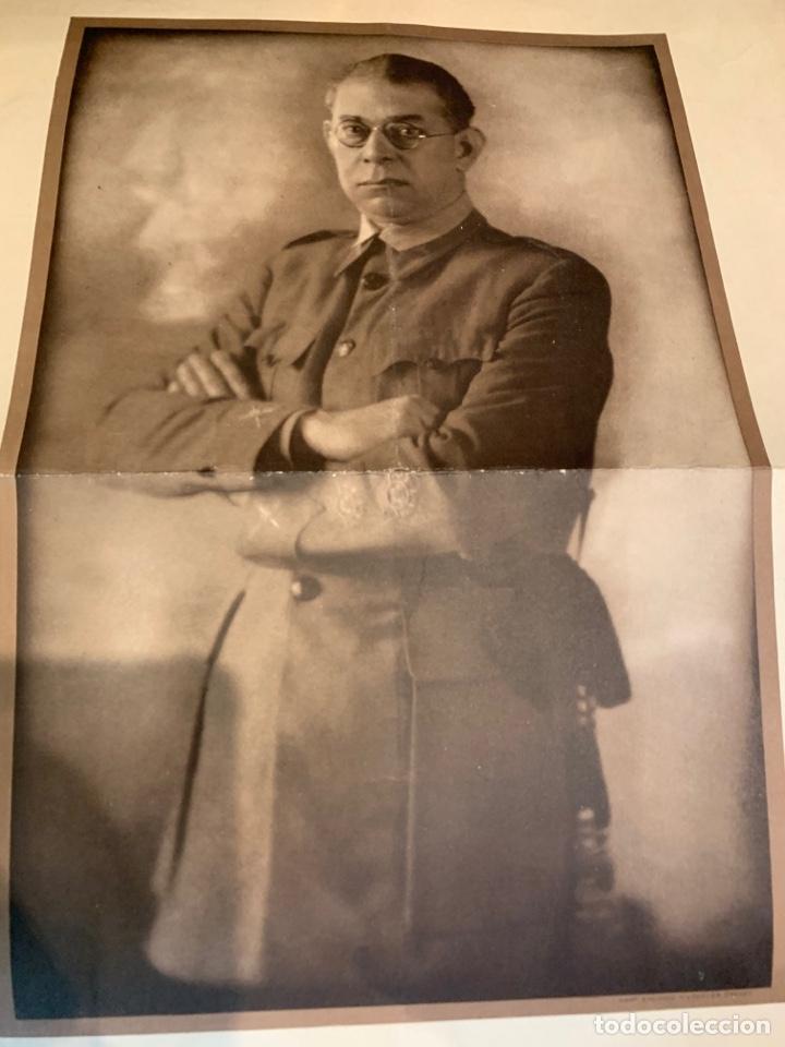 FOTOGRAFÍAS DEL GENERAL E. MOLA - DE ÉPOCA - 60 X 49 CM. (Militar - Fotografía Militar - Guerra Civil Española)