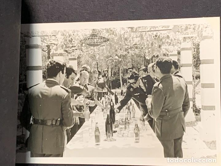 Militaria: ALBUM 8 FOTOS MILITAR CARROS COMBATE REGTO MIXTO INFANTERIA ESPAÑA 18 BATALLON CARROS 1971 16X22CMS - Foto 2 - 253115900