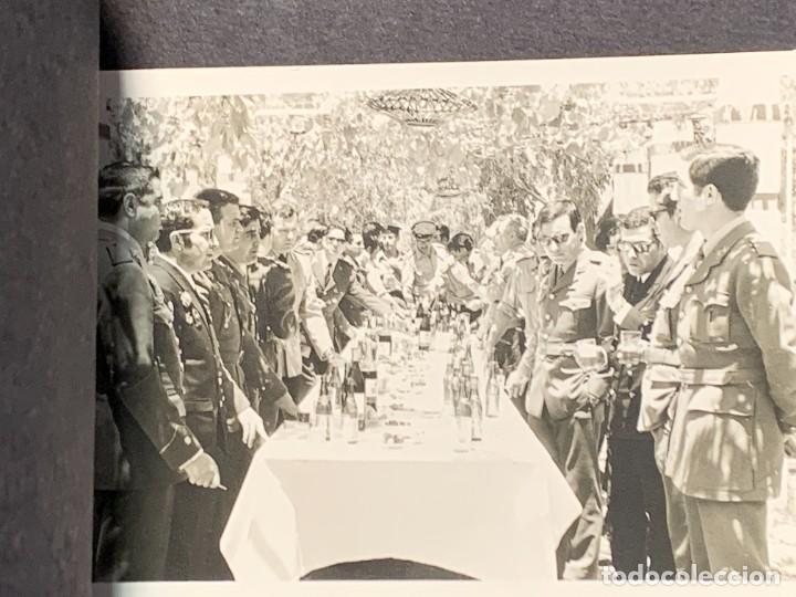 Militaria: ALBUM 8 FOTOS MILITAR CARROS COMBATE REGTO MIXTO INFANTERIA ESPAÑA 18 BATALLON CARROS 1971 16X22CMS - Foto 3 - 253115900
