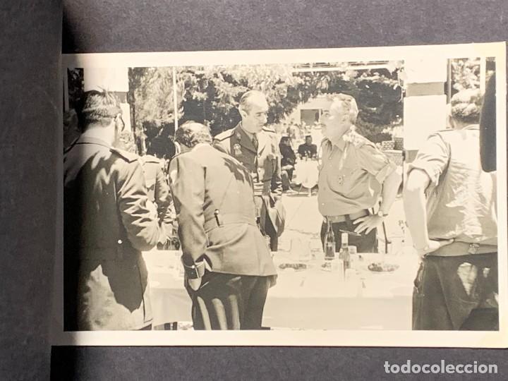 Militaria: ALBUM 8 FOTOS MILITAR CARROS COMBATE REGTO MIXTO INFANTERIA ESPAÑA 18 BATALLON CARROS 1971 16X22CMS - Foto 5 - 253115900
