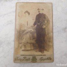 Militaria: FOTOGRAFÍA ANTIGUA DE GUARDIA CIVIL JAIME FONT IGUALADA ÉPOCA ALFONSINA. Lote 268117819