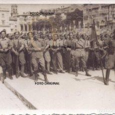 Militaria: JURA BANDERA SARGENTOS PROVISIONALES ACADEMIA VITORIA JUNIO 1937 LEGION CONDOR GUERRA CIVIL. Lote 254036140
